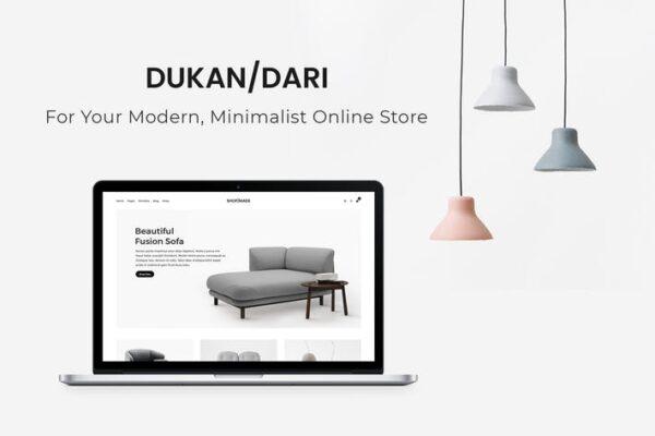 Dukandari - A Modern, Minimalist eCommerce Theme 1