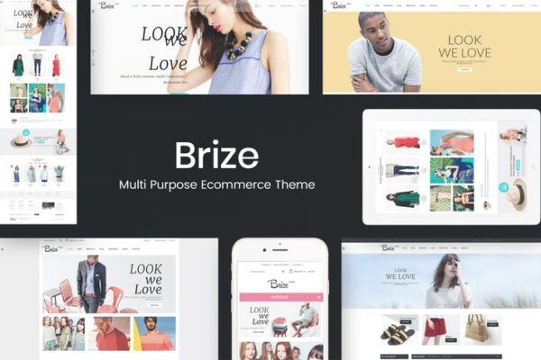 Brize - Responsive WooCommerce Fashion Theme 1