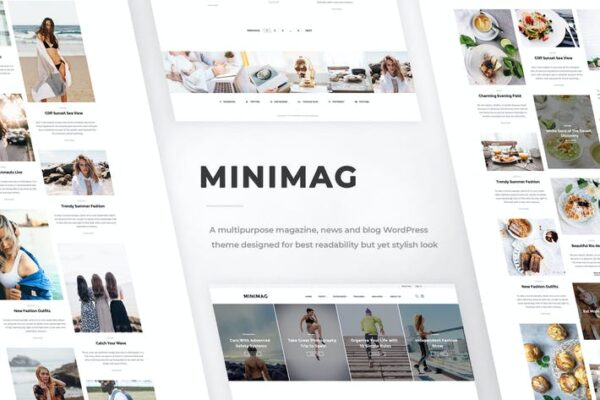 MiniMag - Magazine and Blog WordPress Theme 1