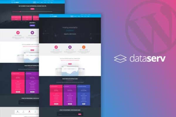 Dataserv - Professional Hosting WordPress Theme 1