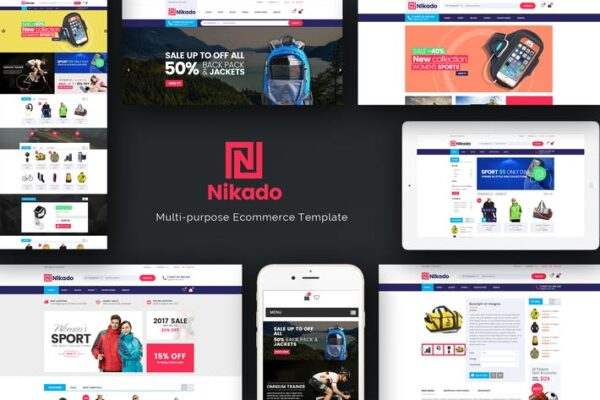 Nikado -Responsive Theme for WooCommerce WordPress 1