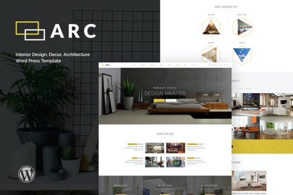 ARC - Interior Design, Decor, Architecture WordPre 1