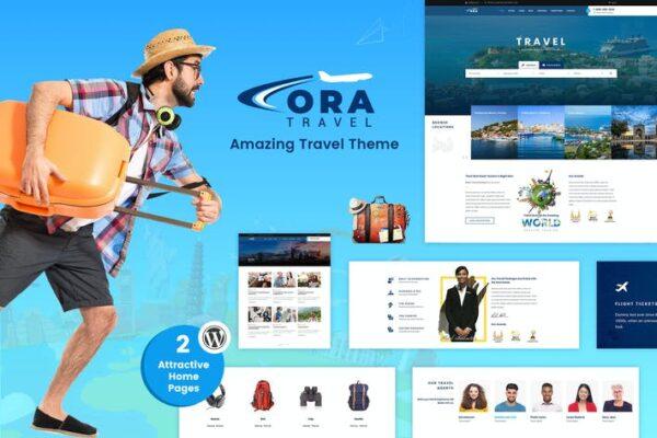 Ora - Travel, Tour Booking WordPress Theme 1