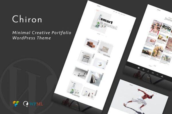 Chiron - Creative Portfolio WordPress Theme 1