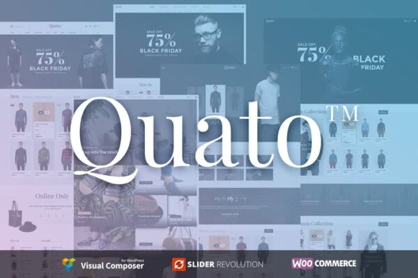 Quato - Responsive WooCommerce WordPress Theme 1