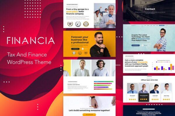 Financia - Tax and Finance WordPress Theme 1