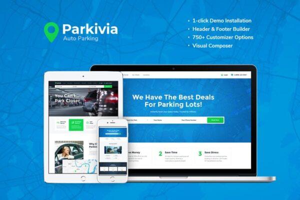 Parkivia - Auto Parking & Car Maintenance WP 1