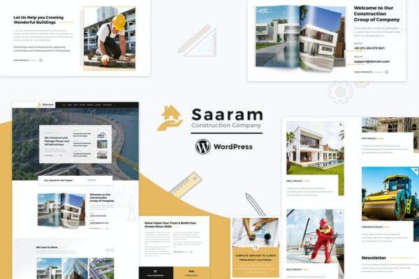 Saaram - Architect Theme 1