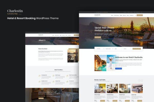 Charlostin - Hotel & Resort Booking WordPress 1