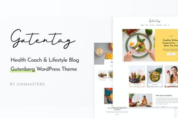 GutenTag - 100% Gutenberg Blog WordPress Theme 1
