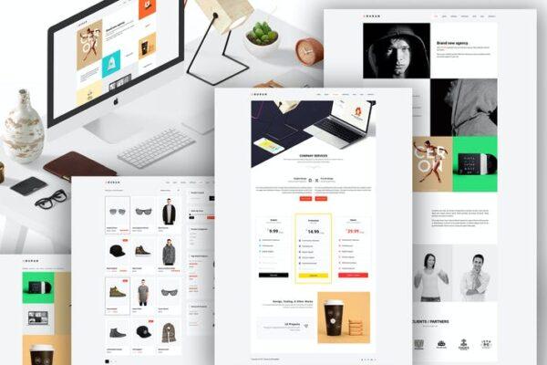 BURAN - Creative Portfolio and Business WordPress 1