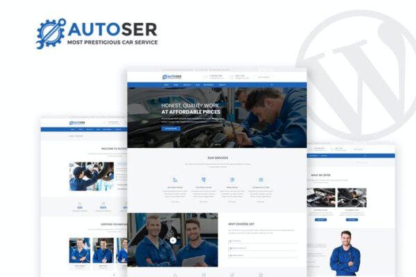 Autoser - Car Repair & Auto Services WP Theme 1