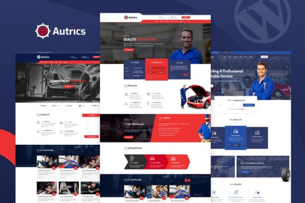 Autrics - Car Services and Auto Mechanic WordPress 1