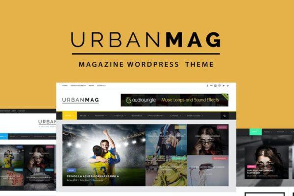 Urban Mag - News & Magazine WordPress Theme 1
