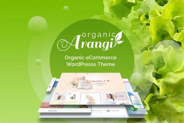 Arangi - Organic WooCommerce Theme 1