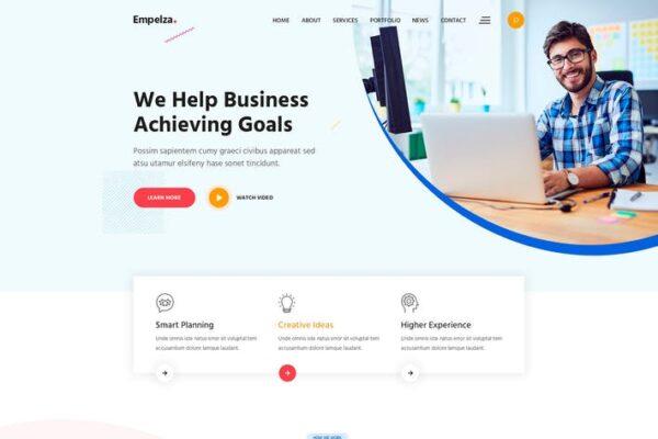 Empelza - Creative Agency WordPress Theme 1