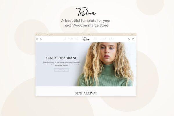 Terina - Multipurpose Elementor WooCommerce Theme 1