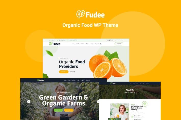 Fudee - Organic Food Elementor WordPress Theme