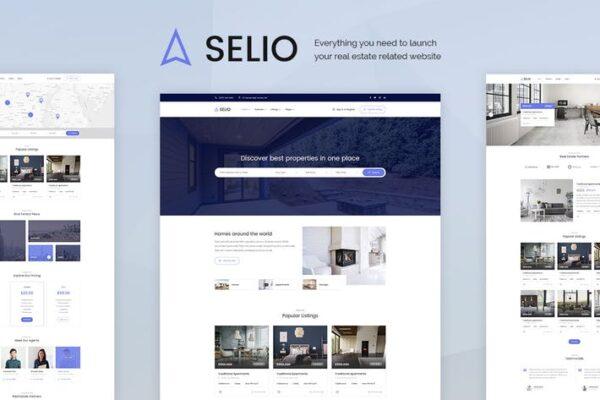Selio - Real Estate Directory WordPress Theme 1