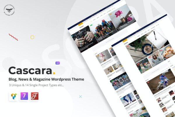 Cascara - Blog, News & Magazine WordPress Theme 1