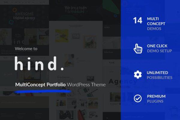 Hind - Multi-Concept Portfolio & Photography theme 1