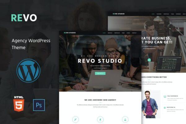 Revo Studio - Multipurpose WordPress Theme 1