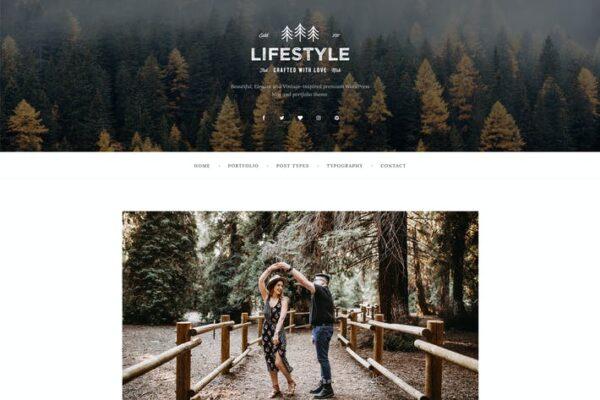 The Lifestyle - WordPress Blog & Portfolio Theme 1