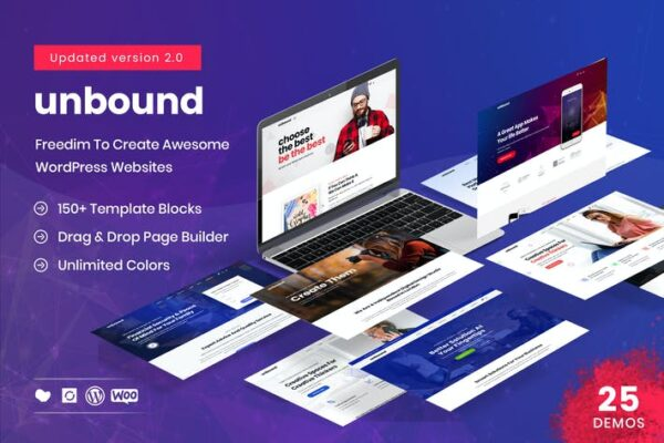 Unbound - Business Agency Multipurpose Theme 1