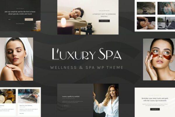 Luxury Spa - Beauty Spa & Wellness Resort Theme 1