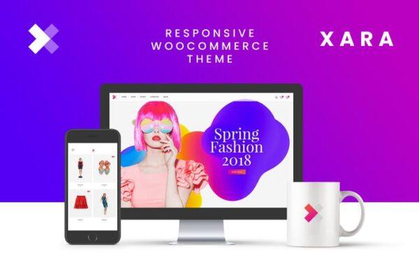 Xara - Responsive WooCommerce Shop Theme 1