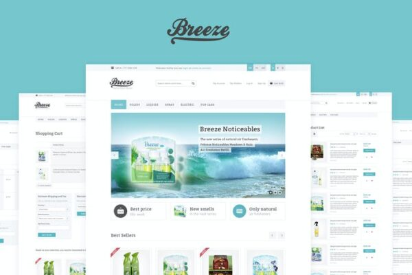 Breeze — Responsive WooCommerce Theme 1