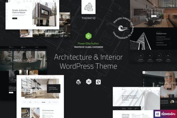 Theratio - Architecture & Interior Design WP Theme 1