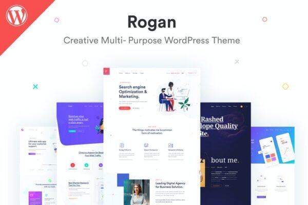 Rogan - Creative Multipurpose WordPress Theme 1