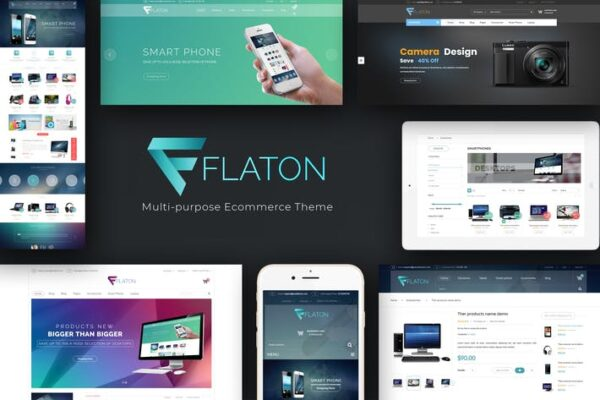 Flaton - WooCommerce Responsive Digital Theme 1