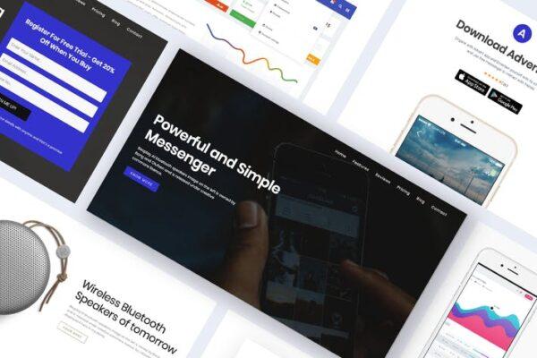 Onepage Digital Marketing WordPress Theme - Advent 1