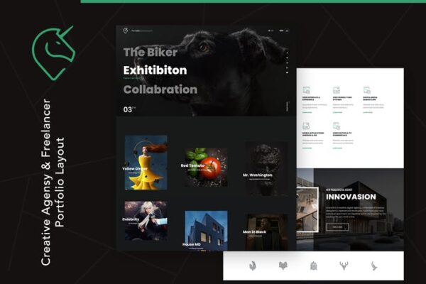 Unicord - Creative Portfolio for Freelancers 1