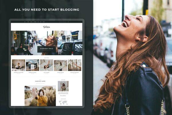Solien - Blog & Shop WordPress Theme 1