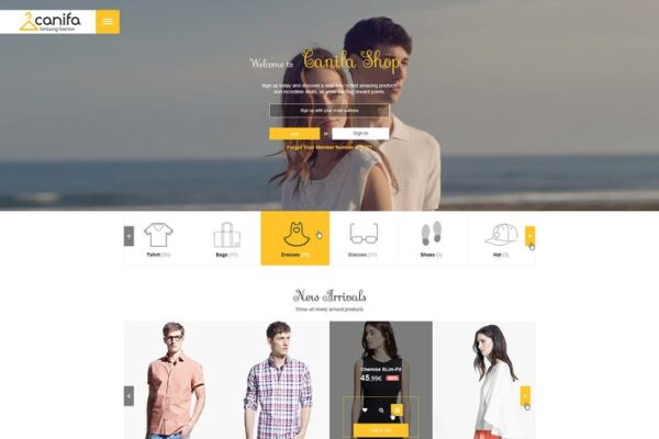 Canifa - Fashion Responsive WooCommerce Theme 1