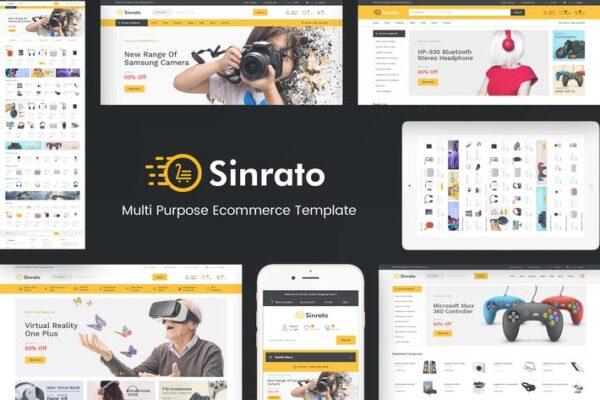 Sinrato - Electronics Theme for WordPress 1