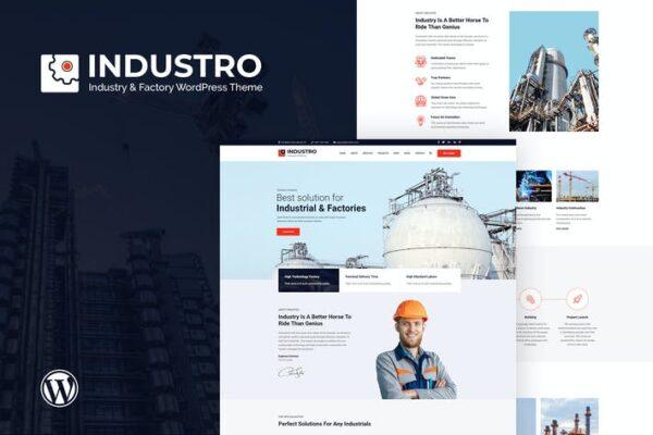Industro - Industry & Factory WordPress Theme 1