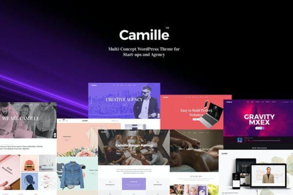 Camille - Multi-Concept WordPress Theme 1