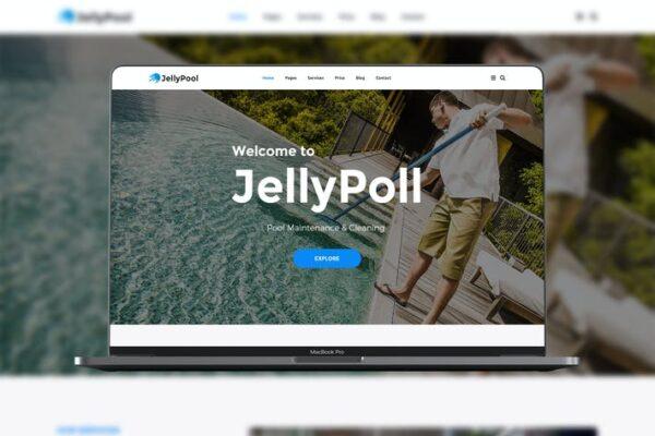 JellyPool Pool Maintenance 1