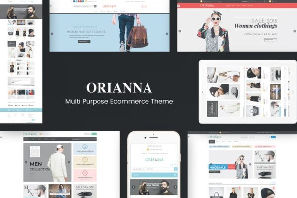 Orianna - Responsive WooCommerce Fashion Theme 1