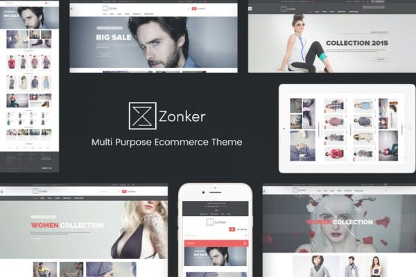 Zonker - WooCommerce WordPress Theme 1