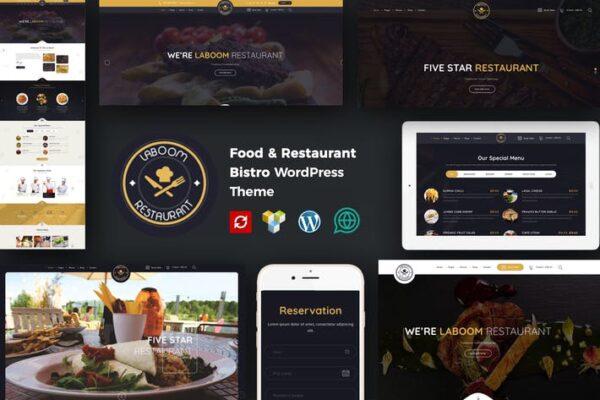 La Boom - Food & Restaurant Bistro WordPress Theme 1