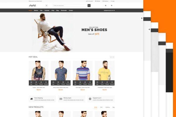 Avaz - Fashion WooCommerce Wordpress Theme 1