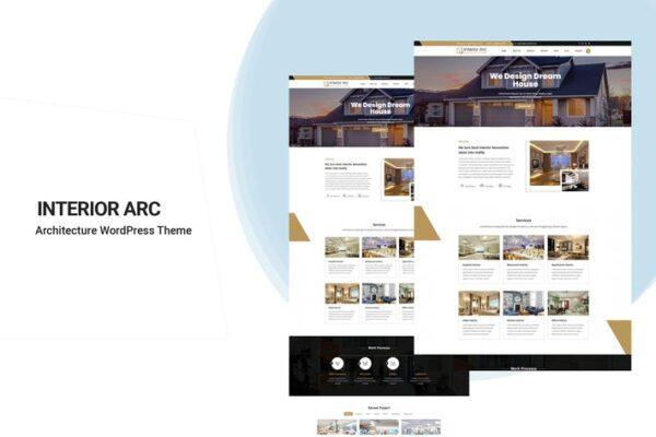 Interior Arc - Architecture WordPress Theme 1