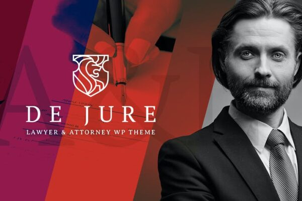 De Jure - Attorney and Lawyer WP Theme 1