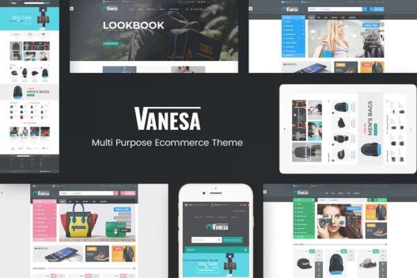 Vanesa - Responsive WooCommerce Fashion Theme 1