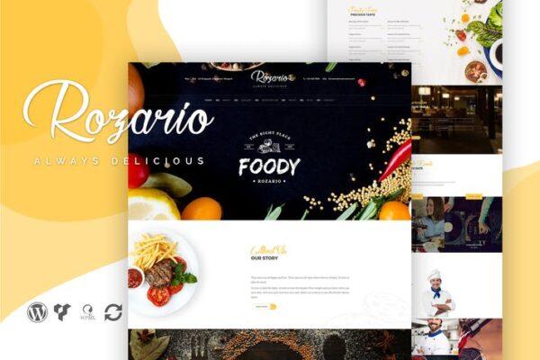 Rozario - Restaurant & Food WordPress Theme 1